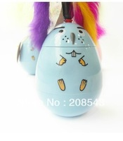 Free Shipping!Pet Cat Toy Does Not Fall Goose Egg / Feather Style Color Random Send