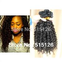 "Free Shipping Mongolian kinky curly virgin hair 3pcs lot,100% unprocessed virgin curly hair mix 8-26"" natural color Rosa hair"
