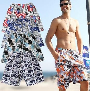 2014 new arrival beach shorts men/basketball loose big  beach shorts / quick-drying  surfe bermuda shorts/boardshorts