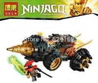 Bela 9791 Burrow Mecha Chariots, The Phantom Ninja Series, 174 Pcs/Set, Educational Building Blocks Toys, Free Shipping
