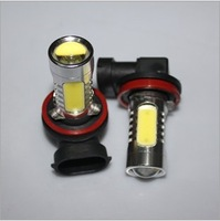 Free shipping Car decoration high brightness H11 before 9005, 9006, ultra bright LED fog lamps / 7.5 W power fog lamps