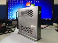 ITX Super Mini PC Desktop Computer Dual-core 1.8GHz 160G SSD 2G RAM+Mini TV Box HTPC Full HD 1080 player