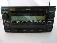 Brand new Fujitsu ten single cd turner 86120-0D281 for Toyota corolla prado car radio