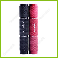 TANK007 TK703 CREE Q5 1-Mode120 lumens LED Torch Flashlight By 1*AAA Battery One Mode Waterproof IPX7 Black Red Optional