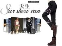 harem pants new 2013 winter pants women overall trousers women brand warm fashion slim plus size hot selling wholesale  black