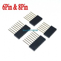 4pcs/lot Stackable Header (6&8 Pin) Kit For Arduino Free Shipping Wholesale