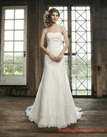 2014 Luxurious Croset Bodice Lace Wedding Gown Top Quality Real Sample Mermaid Designer Wedding Dresses