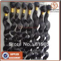 "hair extension bundles cheap human hair 5pcs  Mix Length  Brazilian Hair Weft, 12"" -22"" ,50g/Piece ,  Body Wave"