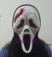 Hot-sell free shipping   long white   mask  Cosplay costume macka mascara Halloween Masquerade maske maska