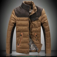 2013 New Arrive Fashion Leisure Down Coat  For Men In WInter Keep Warm Brand Down Jakcet Size:M-XXXL