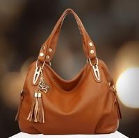 fashion bags handbags women famous brands women handbag genuine pu leather classics tassel messenger bags bolsas femininas 2014