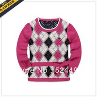 Free Shipping Rtw children's clothing 2013 z female child girl autumn-summer sweater xqw240