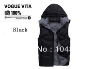 Free Shipping Men Winter  Down Vest High Quality Jacket For Men Winter Men's Casual Sleeveless Vest Fashion Top Quality Vest