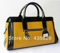 2014 Brand genuine leather cowhide Women's portable  tote handbag