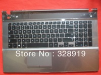 NEW for SAMSUNG 550P7C-S02 NP550P7C 550P7C-S03 KEYBOARD WITH c shell touchpad US