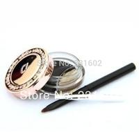 1 pcs 2014 New Love alpha Magic Waterproof Thick eyeliner eye liner gel with brush makeup