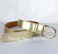 Belts For Women 2013 Belt Brand Fashion Fluorescent Colors Black Wide Gold Belt Waistband Candy Colors Leather Belt Woman P112