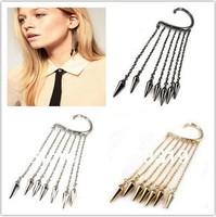 Fashion Earrings vintage no pierced Cross tassel ear hook earrings for women for women earring Min.order is $5 (mix order)