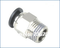 PC8-04 tube size 8mm  1/2 thread plastic fittings, push in fittings, one touch in fittings, pneumatic fittings