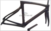 Free shipping , New Full Carbon Road Bike Frame , carbon bicycle frame with Fork+Headset+seatpost+seat clamp , 857 Color