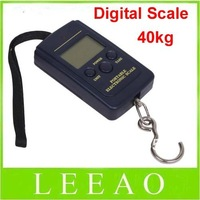 200pcs/lot  # 40kg - 20g Weight Digital Scale Handy Scales Hanging Luggage Fishing Pocket Scale Hook Portable Free Shipping