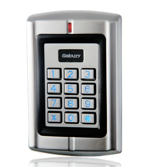 Waterproof 125KHz RFID Access Control Reader Keypad Control Panel+Metal Case + High-performance W3(China (Mainland))