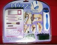 Wholesales!! Wizzit Auto Tweezer Kit Remover & Trimmer 80pcs/lot