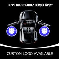 Car Door LED Emblem Welcome Laser Projector Logo Ghost Shadow LED Door Courtesy Puddle Light For Autobots Transformer 1149