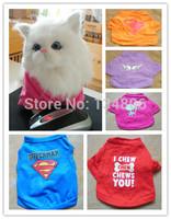 xs - xxl puppy clothes All-inclusive pet cat t-shirt  cat clothing wear dog apparel tees vests