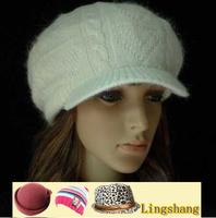 2014 Newest Cheap Beautiful Solid Women Wholesale Free Shipping 100% Wool Beret, LSK23