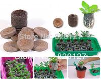 40pcs/lot, 30mm Jiffy Seed Starting Seeds Starting Plugs Professional Peat Soil Pallet-BIODEGRADABLE GARDEN SUPPLIES!