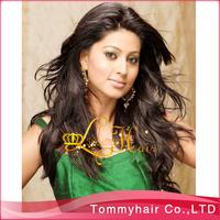 Free shipping virgin Brazilian hair  glueless silky  full lace wigs&no silk full lace wigs,#1,130% density