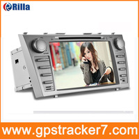 2013 8 Inch Car DVD Player GPS Navigation Radio for Toyota Camry 2007 2008 2009 2010 2011 with Bluetooth FREE 4G Map SD Card8611