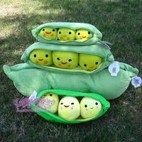 45cm Plush Toys Toy  Peas Pillow Doll Birthday Gift  Free shipping