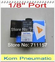 2v025-06 G1/8'' 5 Port 2 Position Air Control Valve Peumatic Solenoid Valve 2/5 Way Aluminium Alloy