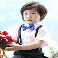2pc/lot Cute Handsome Adjustable Pet Teddy Dog Cat Boy Kids Baby Bow Tie Necktie Bowtie Free shipping & Drop shipping LKM108
