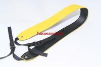yellow fashion PU Shoulder camera neck Strap for Canon Nikon Sony Pentax Panasonic