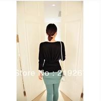 2013 autumn women's slim waist batwing sleeve tz2238 long-sleeve sweater