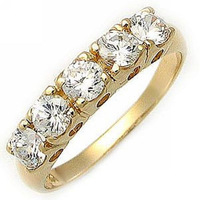 Fashion.Size 6 7 8 9 10 Jewelry White Sapphire NO39 Woman's 10KT Yellow Gold  Ring Gift.Free Shipping