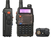 Free shipping(2pcs/lots) by Fedex Baofeng 2013 UV-5RD 5 Watt VHF/UHF 136-174/400-480MHz Dual Band Radio+ Free Eeapiece