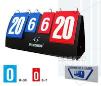 Portable Multi Purpose Double-Sided Manual Sports Scoreboard football basketball tennis