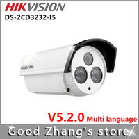 OFF Hikvision new array network HD IP camera DS-2CD3232-I5 with IR POE New authentic guarantee 1080P