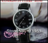 2014 Original Rome-scale automatic mechanical Swiss watch big dial sapphire belt business men watch luxury calendar