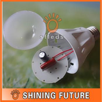6pcs/lot DIY E27 5W LED Bulb Shell Kit / 5*1W Led Lighting Accessories