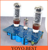 10W*2  EL34+ECC83 hifi Single Ended Class A Stereo Amplifier DIY Kit WLX ( available on KT88)