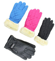 Motorcycle electric bicycle handle sets male women's winter cold-proof thermal knight gloves C92224