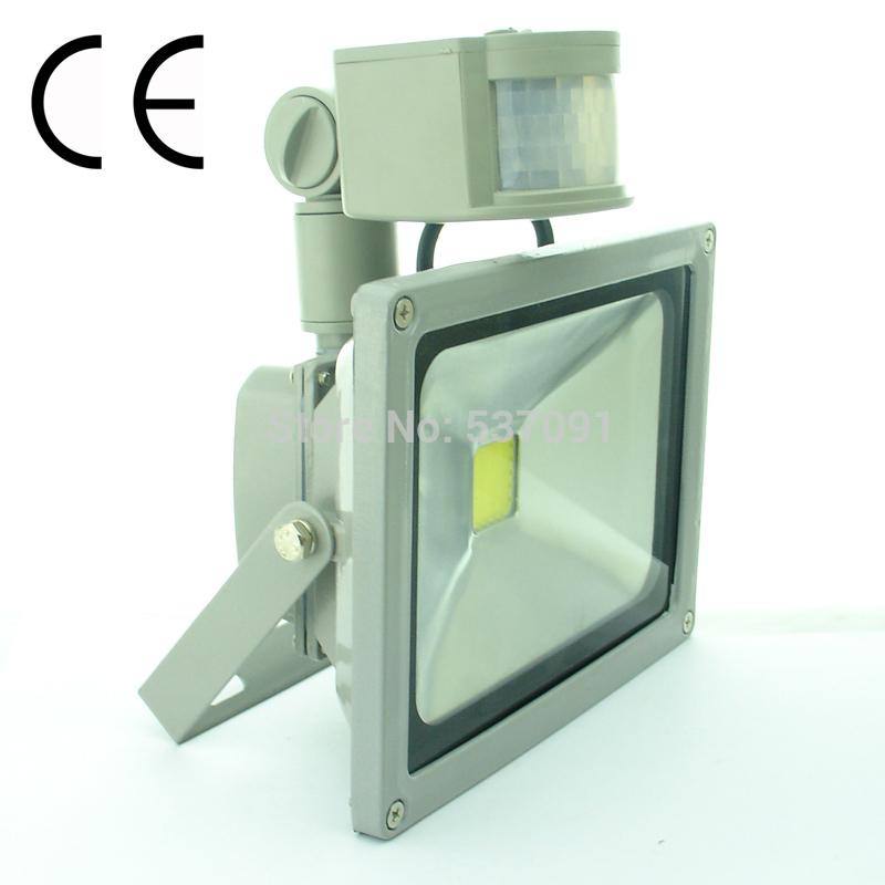 85 265V 20W Cool Warm White PIR Motion Sensor Security LED Flood Light Outdoo