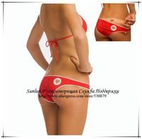 New 2014,Design By Italy Bikini, Heart Bikinis Set,Women Swimwea, SCW-12037 Sport Fringe Top Beachwear,Swimming Suit Women