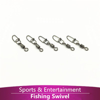 100pcs/lot MS+IS 6# ROLLING SWIVEL WITH INSURANCE SNAP  fishing lure tackle  fishing gear accessories Connector copper swivel