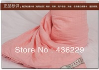 HIGH-GRADE 100% handmade silk quilt size 200*230cm 1KG free shipping spring summer autumn winter Mulberry silk quilt